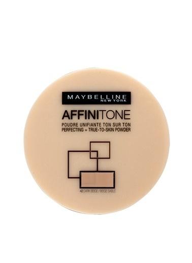 Maybelline Affinitone True-To-Skin Powder 42 Dark Renkli